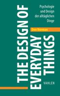 Norman Don: The Design of Everyday Things