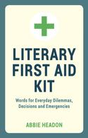 Abbie Headon: Literary First Aid Kit