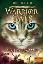 Warrior Cats - Der Ursprung der Clans. Der erste Kampf - V, Band 3