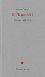 Die Todesstrafe I - Seminar 1999-2000