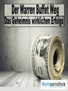 Robert Sasse: Der Warren Buffett Weg ★