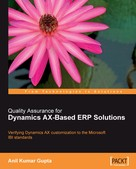 Anil Kumar Gupta: Quality Assurance for Dynamics AX-Based ERP Solutions