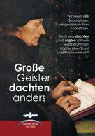 Gabriele-Verlag Das Wort: Große Geister dachten anders ★★★★