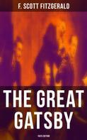 F. Scott Fitzgerald: THE GREAT GATSBY (1925 Edition)