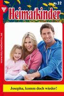 Merz Franziska: Heimatkinder 32 – Heimatroman