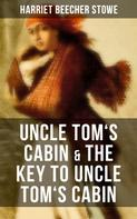 Stowe, Harriet Beecher: Uncle Tom's Cabin & The Key to Uncle Tom's Cabin