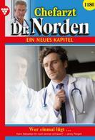 Jenny Pergelt: Chefarzt Dr. Norden 1180 – Arztroman