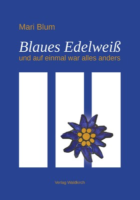 Blaues Edelweiß