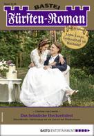 Clarissa von Lausitz: Fürsten-Roman 2548 - Adelsroman