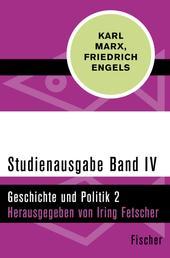 Studienausgabe in 4 Bänden - IV. Geschichte und Politik 2