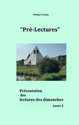 Pré-lectures A