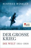 Herfried Münkler: Der Große Krieg ★★★★
