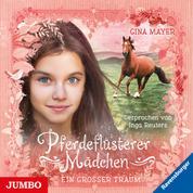 Pferdeflüsterer Mädchen. Ein großer Traum