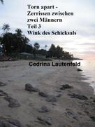 Cedrina Lautenfeld: Torn apart - Zerrissen zwischen zwei Männern