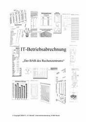IT-Betriebsabrechnung Teil I I - Der BAB des Rechenzentrums - Teil II