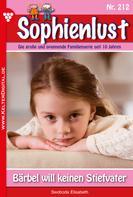 Susanne Svanberg: Sophienlust 212 – Familienroman ★★★★★