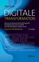 Digitale Transformation - Warum die deutsche Wirtschaft gerade die digitale Zukunft verschläft und was jetzt getan werden muss!