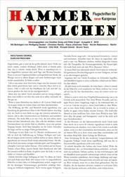 Hammer + Veilchen Nr. 9 - Flugschriften für neue Kurzprosa