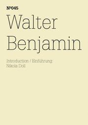 Walter Benjamin - Pariser Passagen(dOCUMENTA (13): 100 Notes - 100 Thoughts, 100 Notizen - 100 Gedanken # 045)