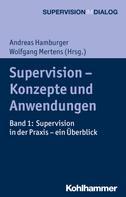 Andreas Hamburger: Supervision - Konzepte und Anwendungen