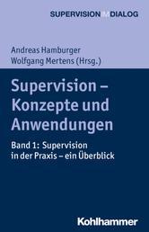 Supervision - Konzepte und Anwendungen - Band 1: Supervision in der Praxis - ein Überblick