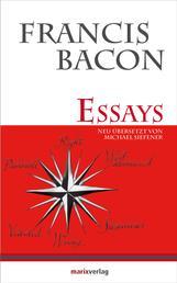 Essays - Neu übersetzt aus dem Englischen von Michael Siefener