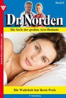 Patricia Vandenberg: Dr. Norden 615 – Arztroman ★★★