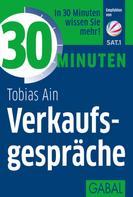 Tobias Ain: 30 Minuten Verkaufsgespräche ★★★★★