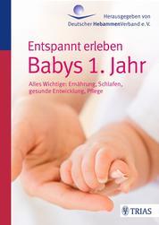 Entspannt erleben: Babys 1. Jahr - Alles Wichtige: Ernährung, Schlafen, gesunde Entwicklung, Pflege