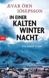 In einer kalten Winternacht - Ein Island-Krimi