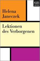 Helena Janeczek: Lektionen des Verborgenen