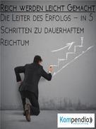 Robert Sasse: Reich werden leicht gemacht ★★