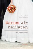 Hannes Leitlein: Warum wir heiraten ★★★