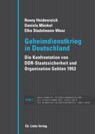 Ronny Heidenreich: Geheimdienstkrieg in Deutschland