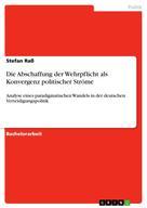 Stefan Raß: Die Abschaffung der Wehrpflicht als Konvergenz politischer Ströme
