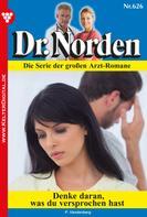 Patricia Vandenberg: Dr. Norden 626 – Arztroman ★★★★
