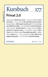 Kursbuch 177 - Privat 2.0