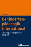 Alois Bürli: Behindertenpädagogik international