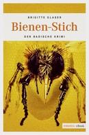 Brigitte Glaser: Bienen-Stich ★★★★