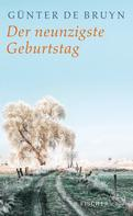 Günter de Bruyn: Der neunzigste Geburtstag