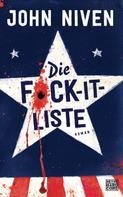 John Niven: Die F*ck-it-Liste ★★★★