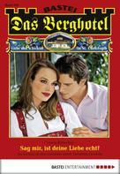 Verena Kufsteiner: Das Berghotel - Folge 106