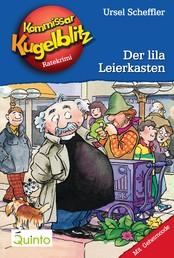 Kommissar Kugelblitz 05. Der lila Leierkasten - Kommissar Kugelblitz Ratekrimis