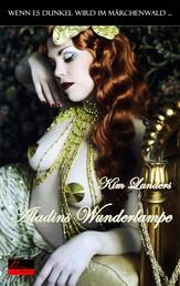 Wenn es dunkel wird im Märchenwald ...: Aladins Wunderlampe - Erotische Novelle