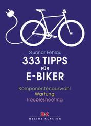 333 Tipps für E-Biker - Komponentenauswahl – Wartung – Troubleshooting