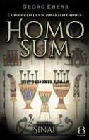 Georg Ebers: Homo sum. Historischer Roman. Band 1