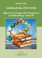 Vasant Lad: Lehrbuch des Ayurveda - Band 3 ★★★★★