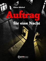 Auftrag für eine Nacht - Kriminalroman