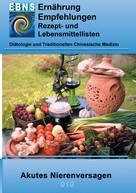 Josef Miligui: Ernährung bei akutem Nierenversagen