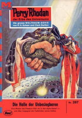 Perry Rhodan 287: Die Halle der Unbesiegbaren